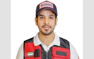 الصورة: «إسعاف دبي» تنقذ خمسينياً توقف  قلبه
