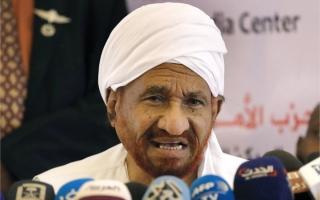 الصادق المهدي:  التسرع قد يُدخل السودان في نفق مظلم