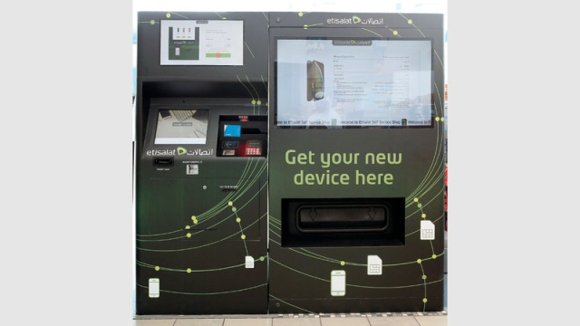Etisalat» launches a self-selling smartphones - Teller Report