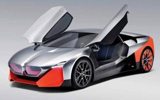 الصورة: «BMW Vision M NEXT» تسلط الضوء على مستقبل القيادة الرياضية