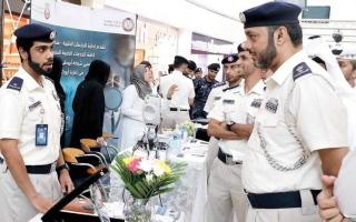 الصورة: شرطة أبوظبي تحذّر الجمهور من مخاطر المخدرات