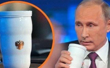 الصورة: «كوب» بوتين يثير الحيرة في قمة العشرين.. والكرملين يكشف السر