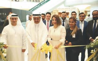 الصورة: افتتاح عيادات السعودي الألماني في جميرا