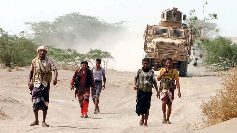 ألوية العمالقة تواصل التصدي للهجمات الحوثية في الحديدة. إي.بي.إيه