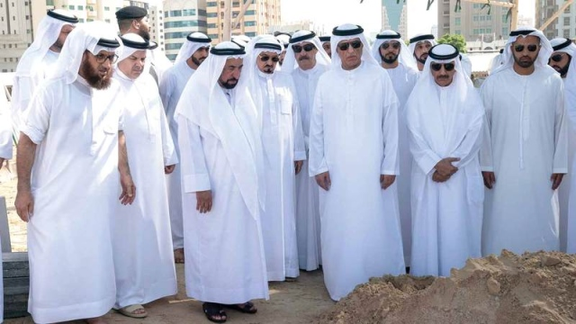 Rulers Of Sharjah Ajman Umm Al Quwain And Ras Al Khaimah Perform Funeral Prayers On The Body Of Khalid Bin Sultan Teller Report