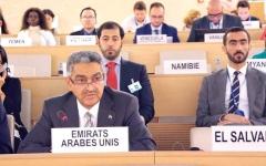 الصورة: الإمارات: الحل السياسي هو التسوية الوحيدة لإنهاء الأزمة السورية
