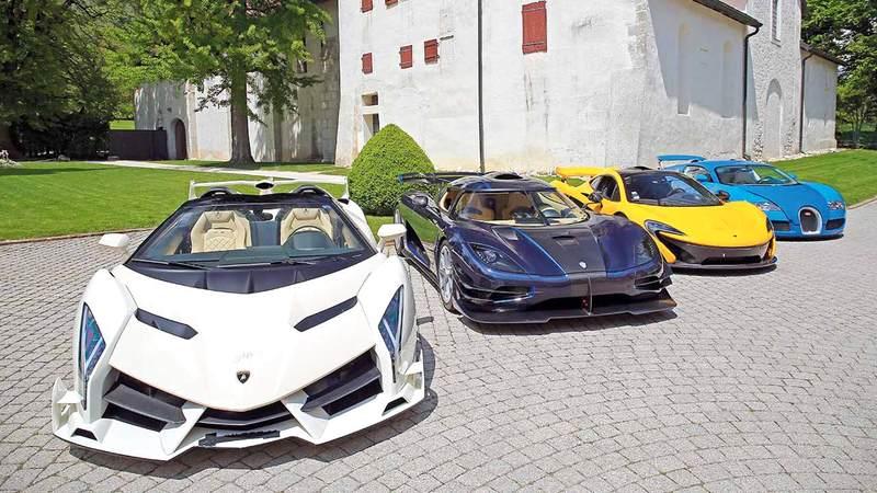 سيارات فاخرة من مقتنيات نائب رئيس غينيا الاستوائية، غيتي