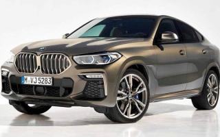الصورة: «BMW» تزوّد سيارتها «X6» بمزيد من اللمسات الرياضية