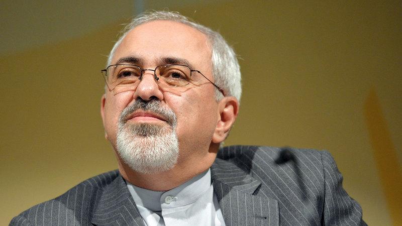 جواد ظريف استعد مع روحاني للدفاع عن اتفاق نووي محدود. أ.ب