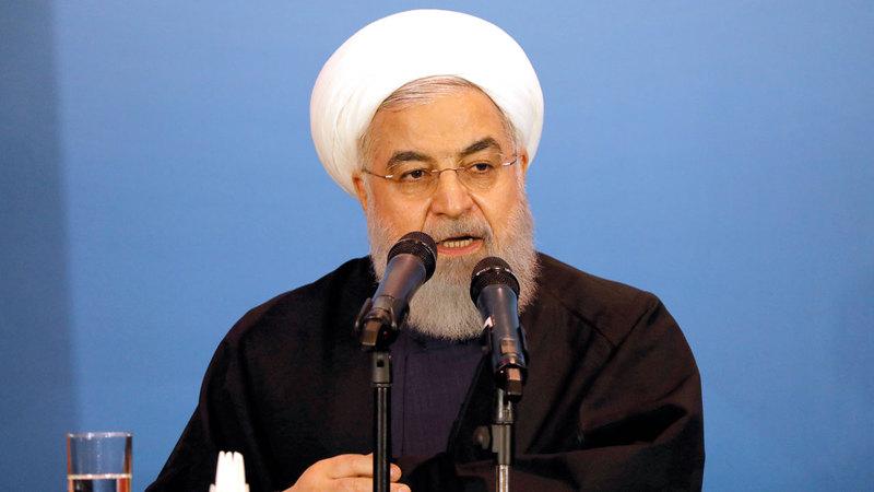 روحاني شارك في استثمار إيران الوقت والمال لتطوير الأسلحة النووية. رويترز