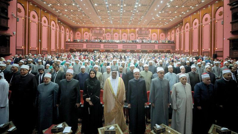 حفل التتويج شمل تكريم 876 طالباً وطالبة وصلوا إلى النهائيات. من المصدر