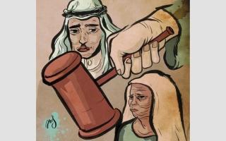 الصورة: 250 ألف درهم تهدد «أبوموسى» بالسجن وتشريد أسرته