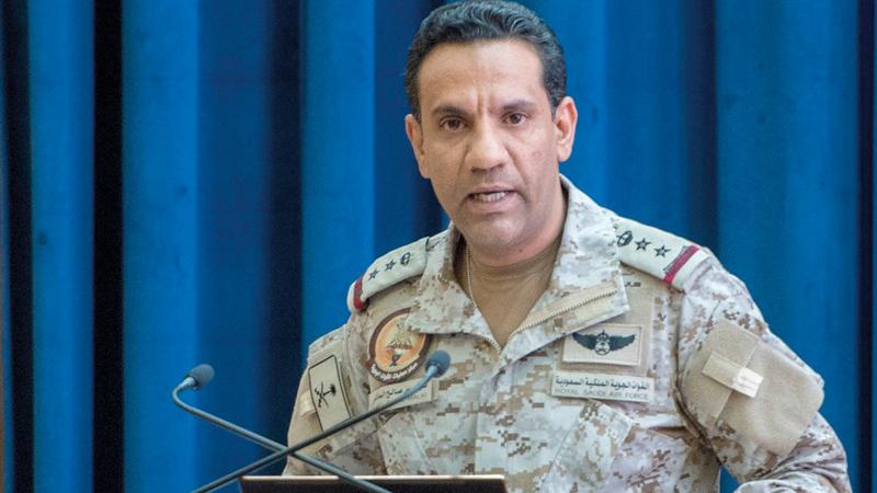 تركي المالكي: «مستمرون في تنفيذ الإجراءات الرادعة  ضد الميليشيات الإرهابية، وتحييد القدرات  الحوثية بكل صرامة».