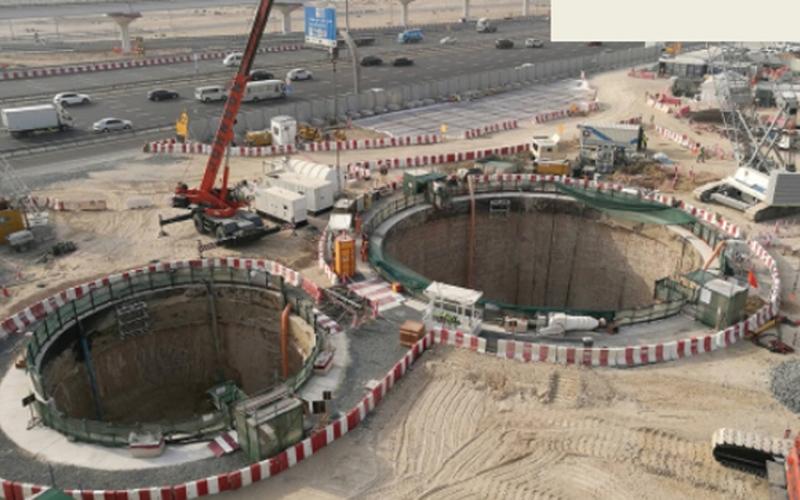 الصورة: إنفوغرافيك.. دبي تستوعب الأمطار بنفق الـ 100 عام