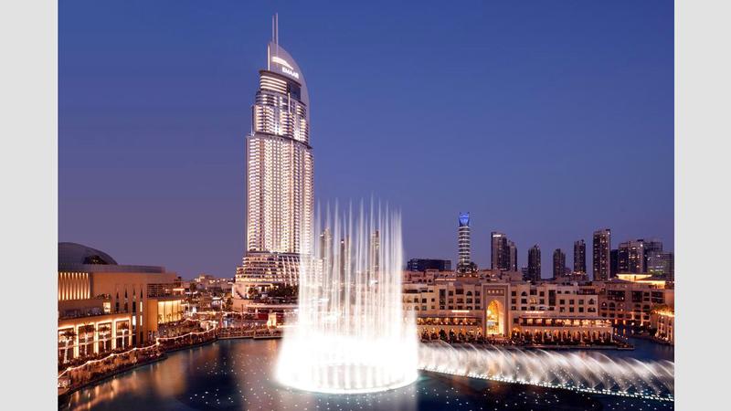 موقعها الاستراتيجي يجعل دبي خياراً مفضلاً للزوّار من الشرق والغرب. أرشيفية