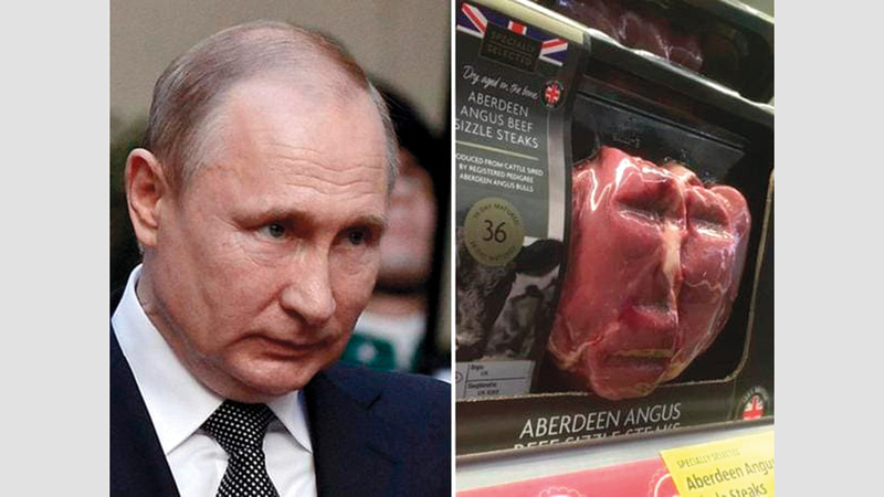 بوتين وقطعة اللحم.