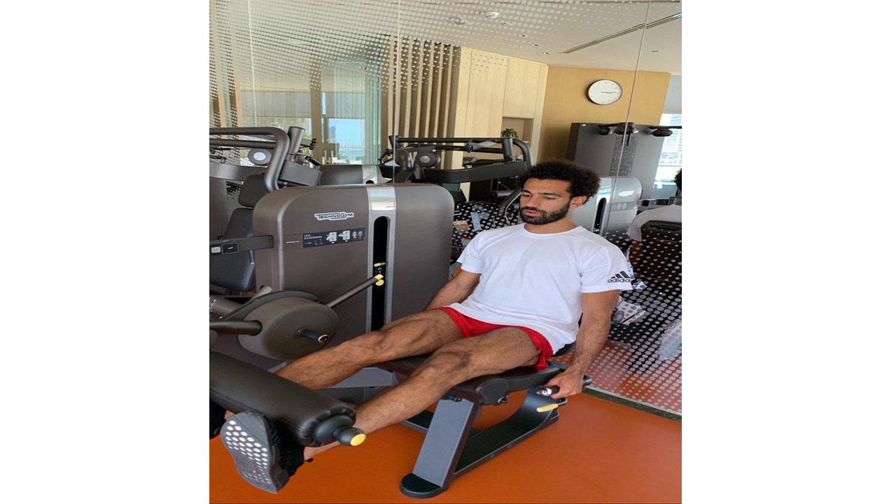 محمد صلاح في دبي