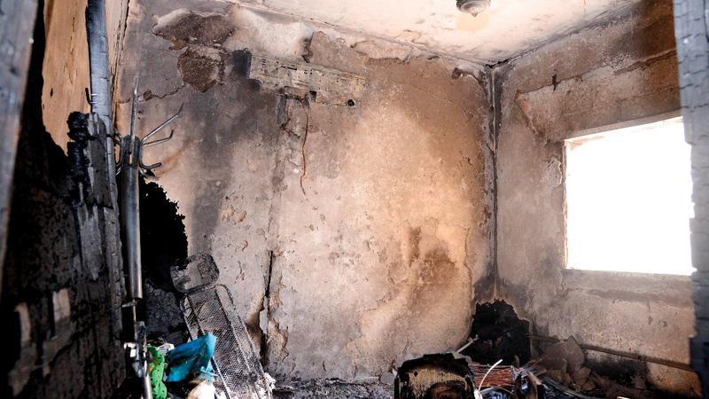 الحرائق المنزلية تزداد في فصل الصيف. أرشيفية