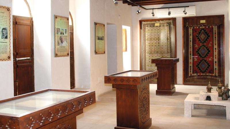 «متحف الشاعر العقيلي» شُيِّد عام 1923، في منطقة الرّاس بديرة، ويتبع الآن هيئة دبي للثقافة والفنون. أرشيفية