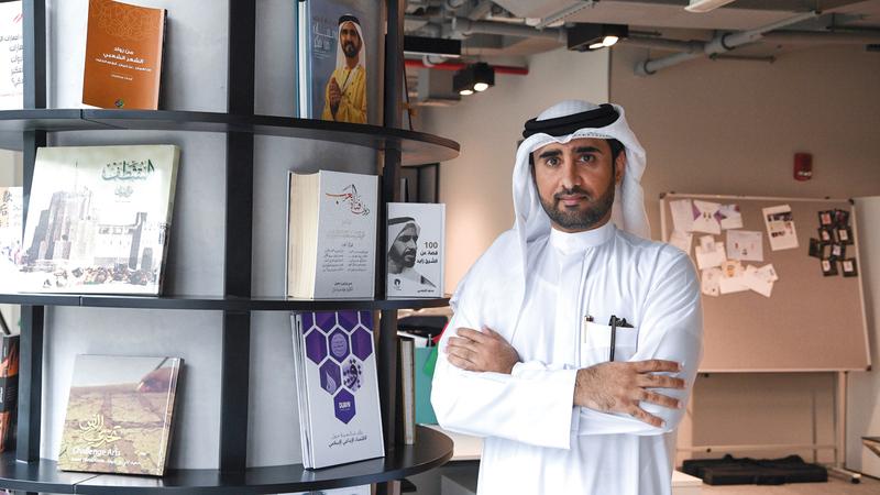 الحبسي: دبي تحظى بالكثير من الكنوز التي يجب أن تأخذ حقها من الاهتمام. تصوير: أشوك فيرما