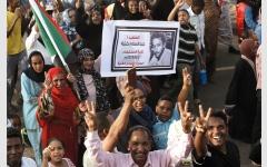 الصورة: الآلاف يشاركون في مسيرات لتأبين ضحايا فضّ اعتصام السودان