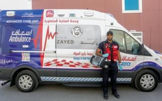 الصورة: «إسعاف دبي» تنقذ حياة 5220 مريضاً بالقلب منذ بداية العام