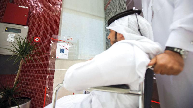 دبي تقدّم خدمات نوعية لأصحاب الهمم تلبي جميع متطلباتهم. أرشيفية