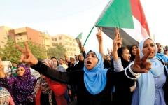 الصورة: «الحرية والتغيير» السودانية: مفاوضات لحسم الخلافات حول «الإعلان الدستوري»