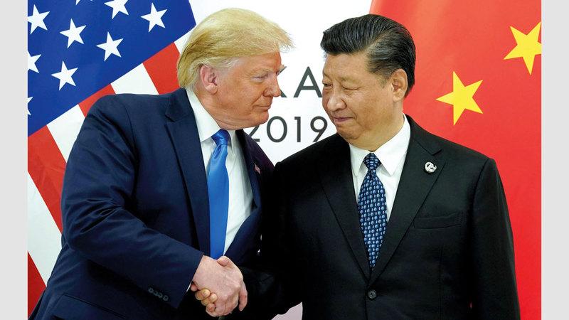ترامب وجينبنغ.. الخلاف الصيني الأميركي لن يجد طريقه إلى الحل.  رويترز