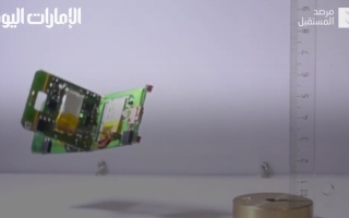 الصورة: بالفيديو.. روبوتات بحجم الكف تقلد سلوك النمل