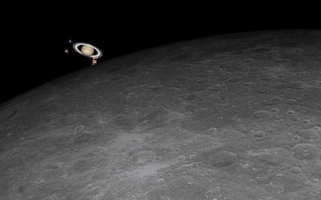 الصورة: سكان الامارات يشاهدون الليلة خسوف القمر