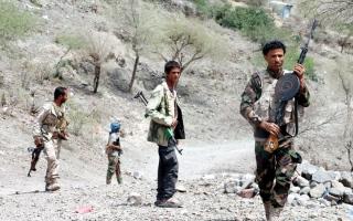 الصورة: التحالف يسقط 4 طائرات مُســـــيّرة أطلقها الحوثيون باتجاه جازان وأبها