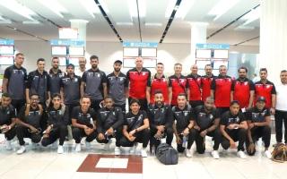 الصورة: 23 لاعباً في معسكر خورفكان بمصر