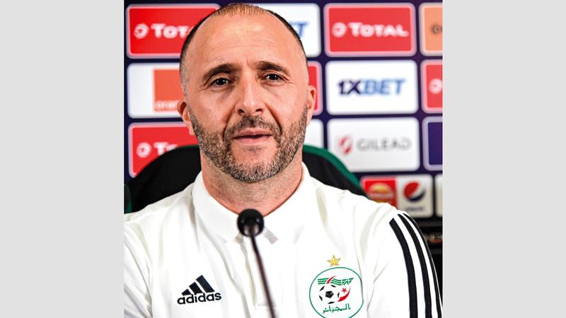 المدرب الجزائري جمال بلماضي. من المصدر