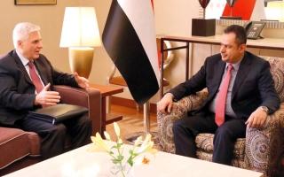 الصورة: عبدالملك يشدد على استناد الحل السياسي إلى المرجعيات الثلاث
