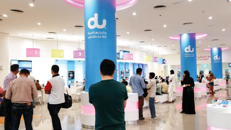 الشركة أجرت تجارب ناجحة على مكالمات الفيديو عبر شبكة الجيل الخامس. تصوير: أحمد عرديتي
