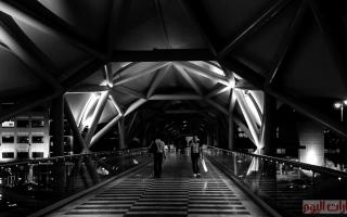 الصورة: جسور مشاة «مبدعة» في دبي