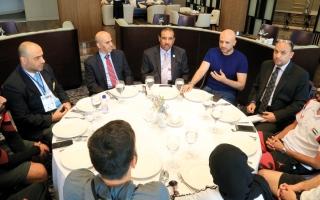 الصورة: الرزوقي يطالب «كاراتيه الإمارات» بإنجاز في البطولة الآسيوية