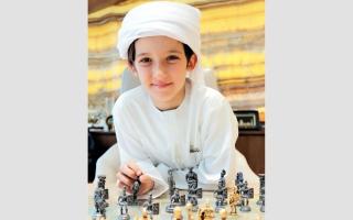 الصورة: موفق القداح يفوز ببطولة أكاديمية الاتحاد الآسيوي للشطرنج