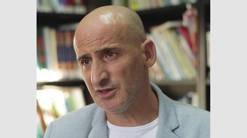مدير مركز معلومات وادي حلوة سلوان جواد صيام. من المصدر