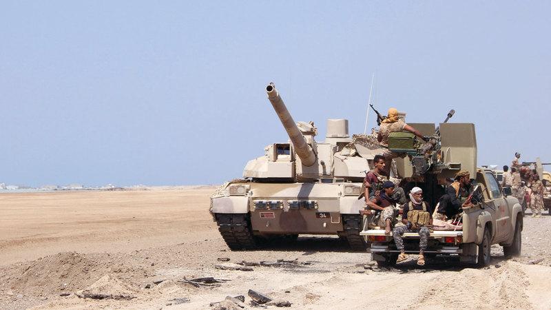 الجيش اليمني يواصل التصدي للميليشيات الحوثية. أرشيفية