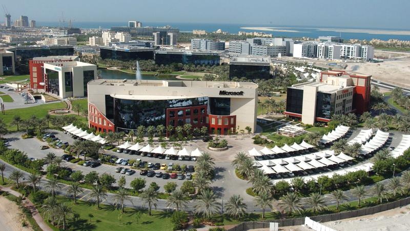 مدينة دبي للإنترنت أوجدت بيئة مواتية لتعزيز ابتكارات تكنولوجيا المعلومات والاتصالات. أرشيفية
