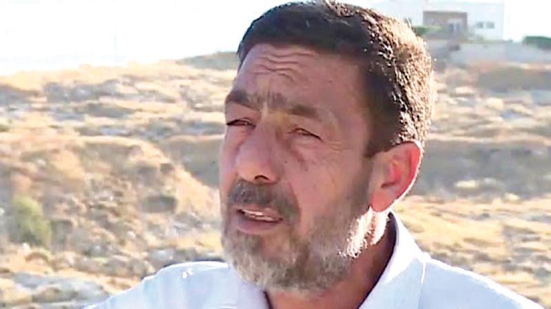 رئيس لجنة أهالي حي وادي الحمص حمادة حمادة. الإمارات اليوم
