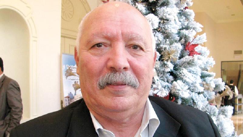 مدير مركز القدس للحقوق الاجتماعية زياد حموري. الإمارات اليوم