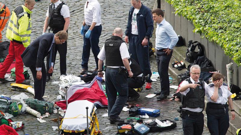 المملكة المتحدة شهدت خلال الفترة من يناير 2014 إلى ديسمبر الماضي 37 حادثاً ما بين هجمات إرهابية وأعمال عنف.  أرشيفية
