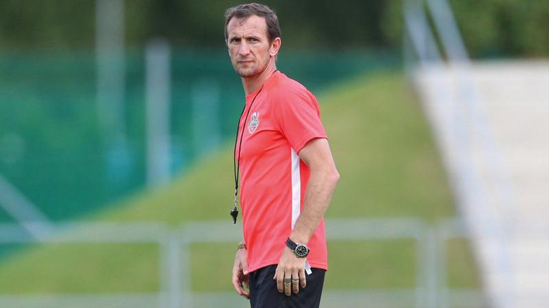 رودولفو أروابارينا: «نسعى إلى بدء الموسم بأفضل طريقة».