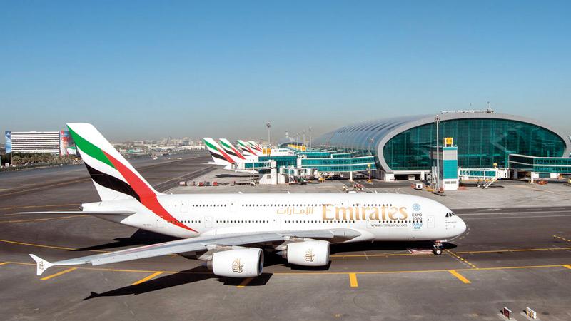 «طيران الإمارات» توفر خياراً تنافسياً للمستهلكين في السوق الأميركية. أرشيفية
