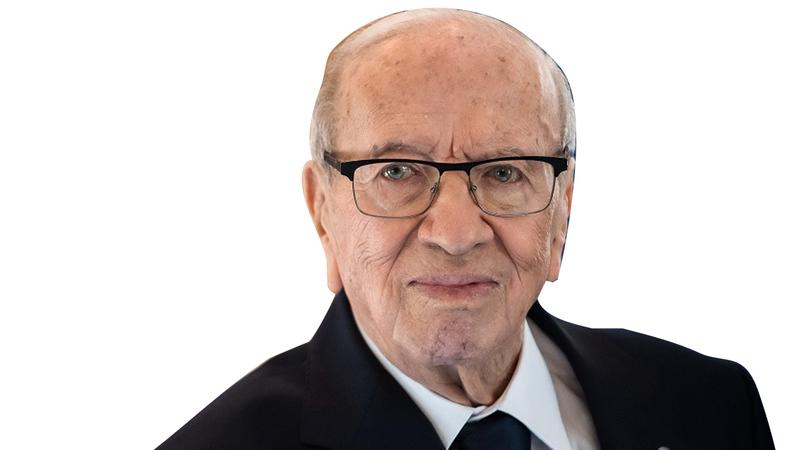 السبسي رحل  عن عمر 92 عاماً. أ.ف.ب