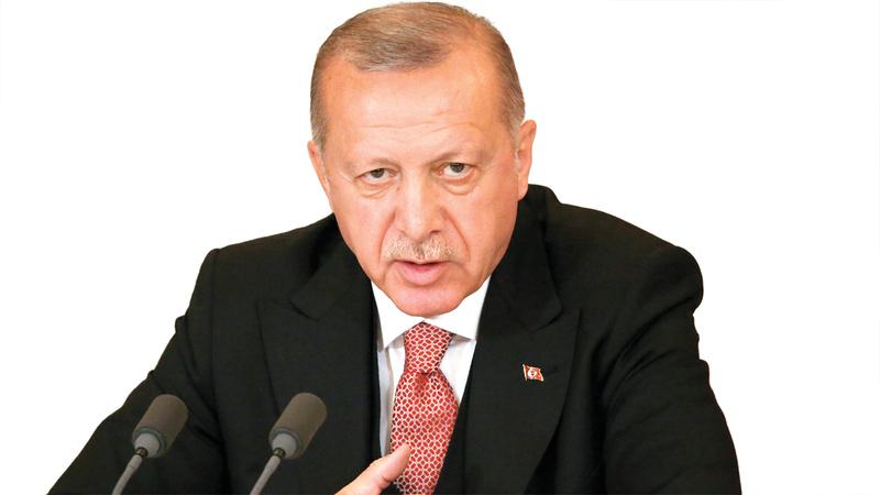 أردوغان يكره حلف الناتو. غيتي