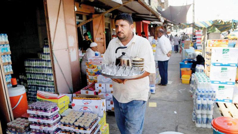 منتجات تركية في الأسواق العراقية. أرشيفية